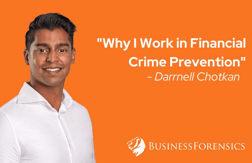 Darrnell Chotkan Waarom Ik in Financiële Criminaliteitspreventie Werk