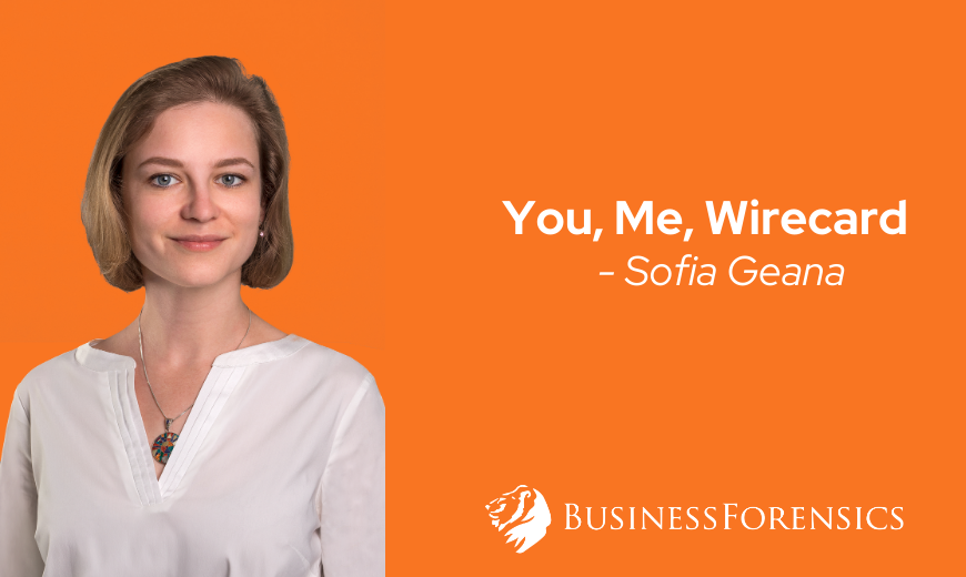 Sofia Geana - You, Me, Wirecard
